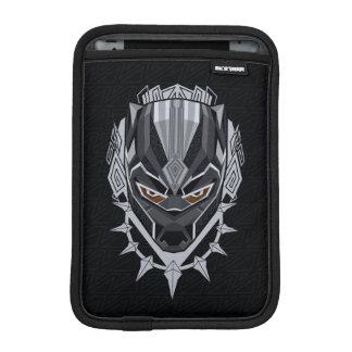 Schwarzer Panther-Kopf-Emblem des schwarzen Sleeve Für iPad Mini