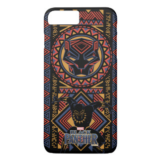 Schwarzer Panther-Platte des schwarzen Panther-  iPhone 8 Plus/7 Plus Hülle