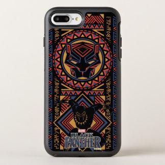 Schwarzer Panther-Platte des schwarzen Panther-  OtterBox Symmetry iPhone 8 Plus/7 Plus Hülle