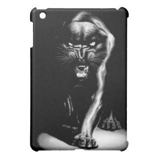 Schwarzer Panther-Speck-Kasten iPad Mini Hülle