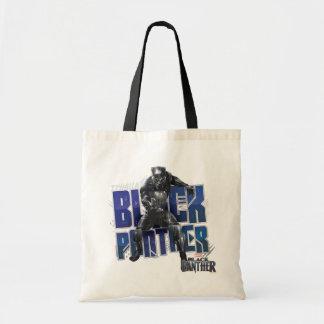 Schwarzer Panther | T'Challa - schwarzer Tragetasche