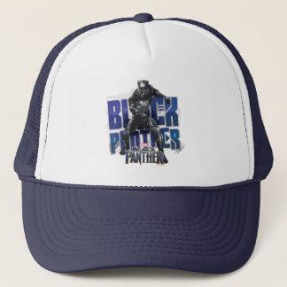 Schwarzer Panther | T'Challa - schwarzer Truckerkappe