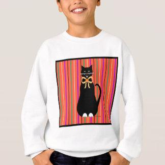 Schwarzer Penny Halloween/Samhain Sweatshirt