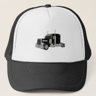 schwarzer Peter errichtet Truckerkappe