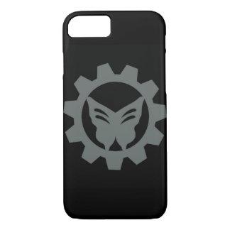 Schwarzer Projekt-Logo-Telefon-Kasten iPhone 8/7 Hülle