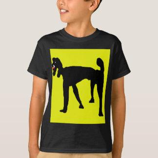 Schwarzer Pudel T-Shirt