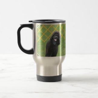 Schwarzer Pudel Kaffeetassen