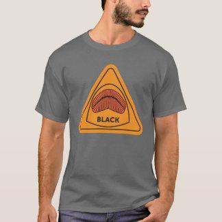 Schwarzer redhorse LippenT - Shirt