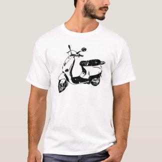 Schwarzer Roller T-Shirt