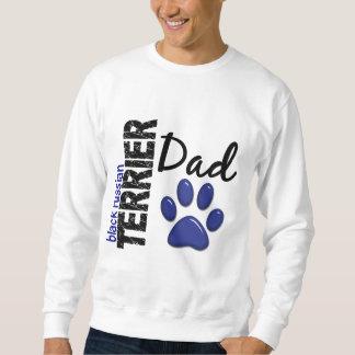 Schwarzer Russe-Terrier-Vati 2 Sweatshirt