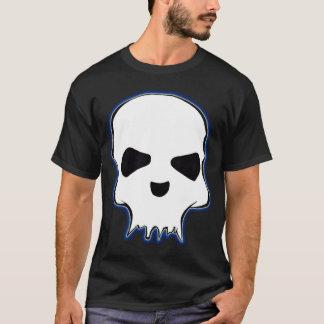 Schwarzer Schädel-T - Shirt