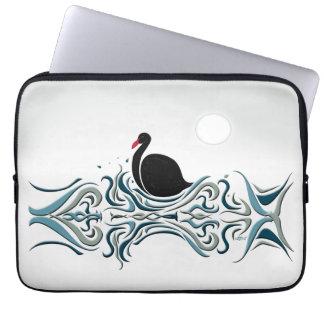 Schwarzer Schwan Laptop Sleeve