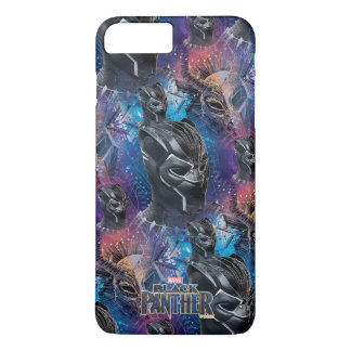 Schwarzer schwarzer Panther des Panther-  u. iPhone 8 Plus/7 Plus Hülle