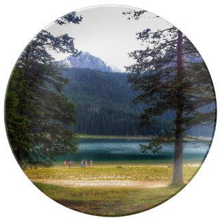 Schwarzer See. Žabljak. Montenegro Teller