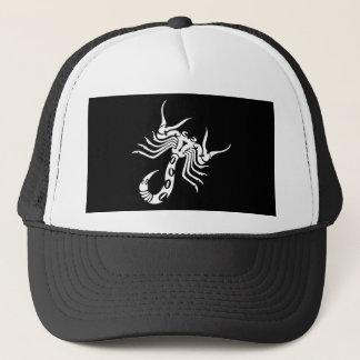 Schwarzer Skorpion Truckerkappe