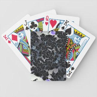 Schwarzer Spitze-Entwurf Bicycle Spielkarten