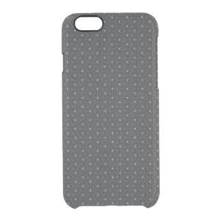 Schwarzer sternenklarer dünner Iphone 6/6s Kasten Durchsichtige iPhone 6/6S Hülle
