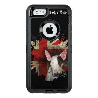Schwarzer Stier-Terrier-Gewerkschafts-Jack OtterBox iPhone 6/6s Hülle
