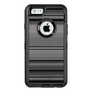Schwarzer Streifen OtterBox iPhone 6/6s Kasten OtterBox iPhone 6/6s Hülle