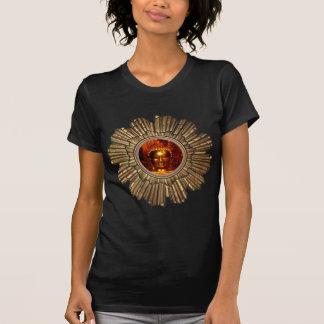 Schwarzer T - Shirt Buddhas Sun