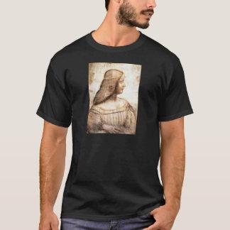 schwarzer T - Shirt Da Vinci