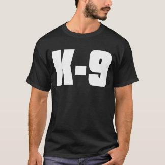 Schwarzer T - Shirt K-9
