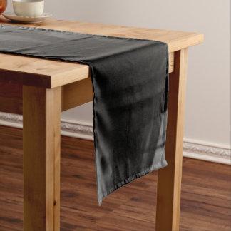 Schwarzer Tabellen-Läufer des Feuer-IV durch Kurzer Tischläufer