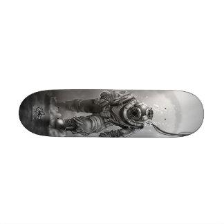 Schwarzer Taucher Bedrucktes Skateboard