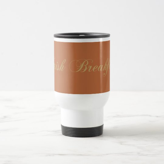 schwarzer Tee black tea irish breakfast Reisebecher