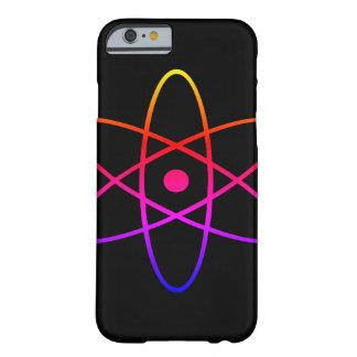 Schwarzer Telefon-Atomarkasten Barely There iPhone 6 Hülle