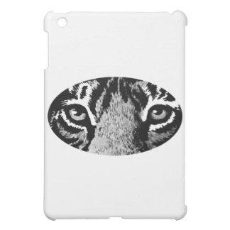 Schwarzer Tiger mustert die MUSEUM Zazzle Geschenk Hüllen Für iPad Mini