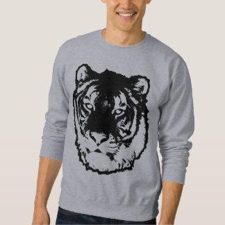 Schwarzer Tiger Sweatshirt