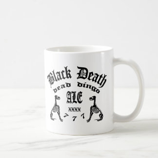 Schwarzer Tod 777 - totes Dingo-Ale Kaffeetasse