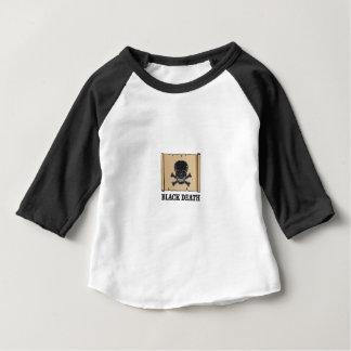 schwarzer Todeszeichen Baby T-shirt