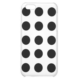 Schwarzer Tupfen iPhone 5 Kasten