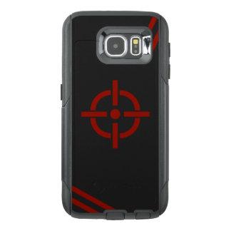 Schwarzer u. roter Ziel-Telefon-Kasten