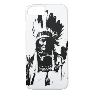 Schwarzer u. weißer Geronimo iPhone 6 Kasten iPhone 8/7 Hülle