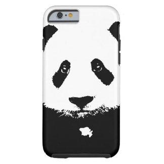Schwarzer u. weißer Panda Tough iPhone 6 Hülle