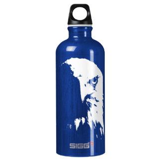 Schwarzer u. weißer Weißkopfseeadler SIGG Aluminiumwasserflasche