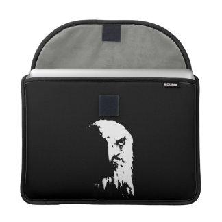 Schwarzer u. weißer Weißkopfseeadler Sleeve Für MacBook Pro