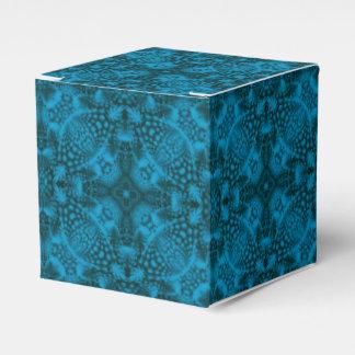 Schwarzer und blauer Bevorzugungs-Kasten des Geschenkschachtel