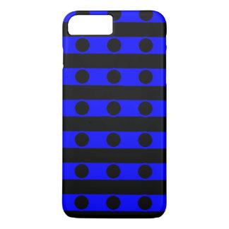 Schwarzer und blauer Telefon-Kasten iPhone 8 Plus/7 Plus Hülle