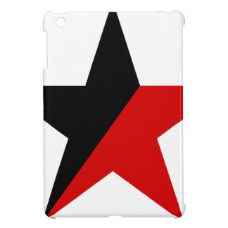 Schwarzer und roter Stern Anarcho-Syndikalismus iPad Mini Hülle