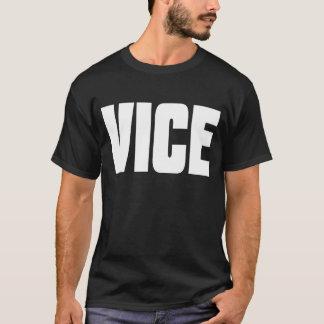 Schwarzer VizeT - Shirt