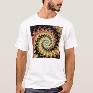 schwarzer Wald mit Eule T-Shirt