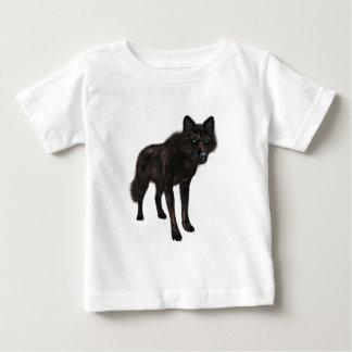 Schwarzer Wolf Baby T-shirt