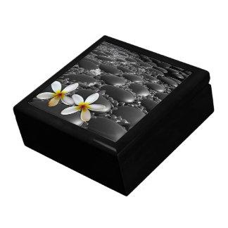 Schwarzer Zen entsteint Trinket-Kasten Geschenkbox