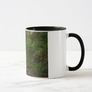 Schwarzes 11 Unze-Wecker-Tassen-Wasserfall Tasse