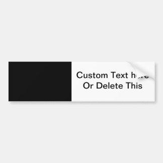 Schwarzes 8 x Entwurf 11 Ihr eigenes Produkt Auto Sticker