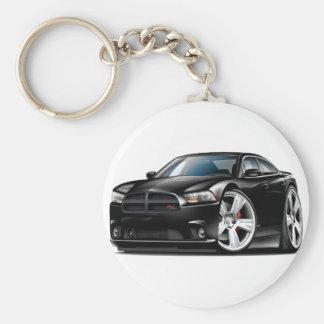 Schwarzes Auto Dodge-Ladegerät Funktelegrafie Schlüsselanhänger